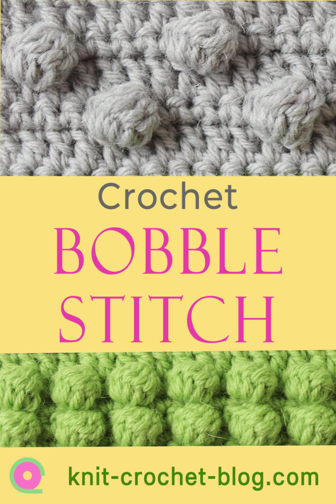 tutorials for crocheting bobble stitches