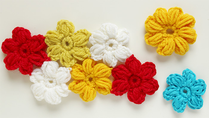 How to crochet an easy flower