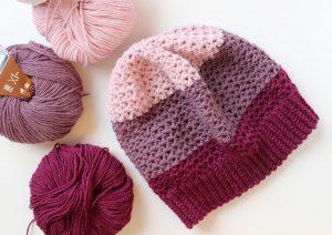 crochet-hat-rose-mauve