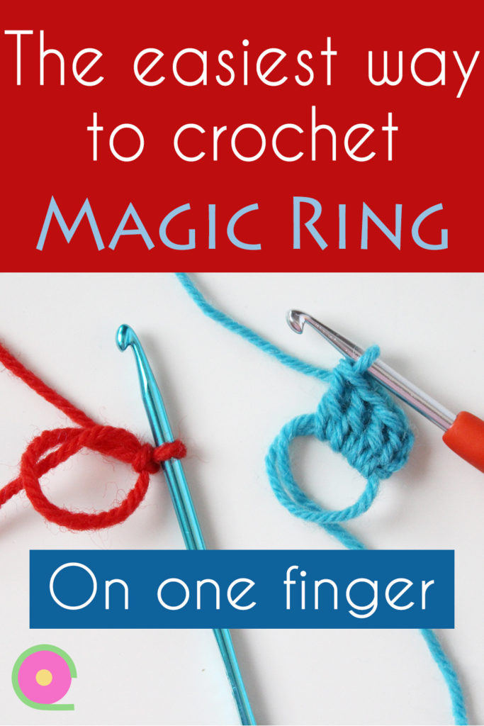 How to start crochet using a magic ring