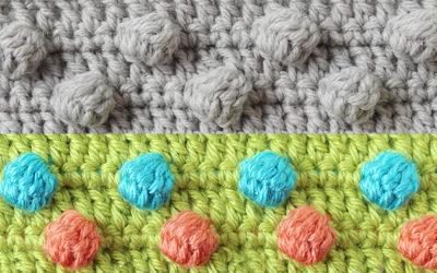 Crochet the bobble stitch