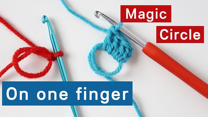 How to make a magic ring for crochet. Magic circle tutorial