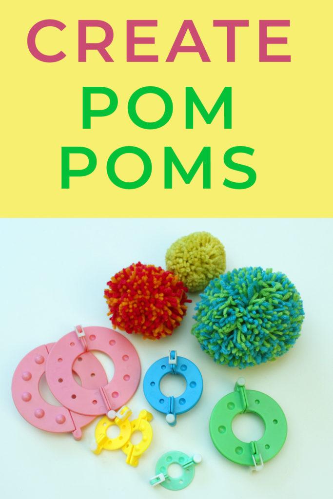 how to use pom pom maker