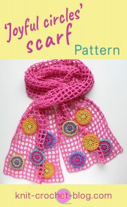 joyful-circles-scarf-pattern