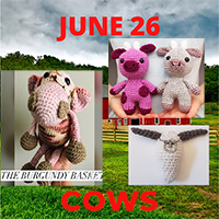 Cow toy crochet patterns