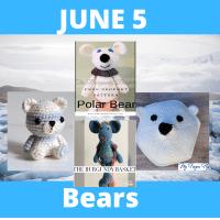 Bear crochet pattern links