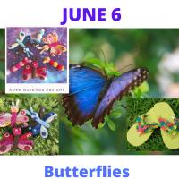 Butterfly crochet pattern links
