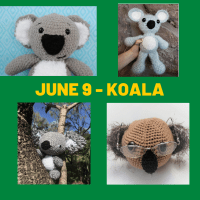Koala crochet patterns