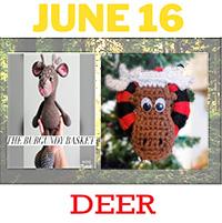 moose and deer crochet pattern
