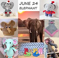 Elephant crochet patterns