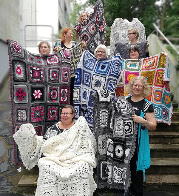Kalevala CAL Crochet-along blankets
