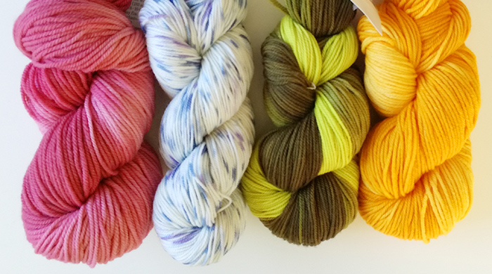 A high-quality yarn subscription box