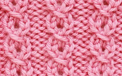 How to knit mock cables