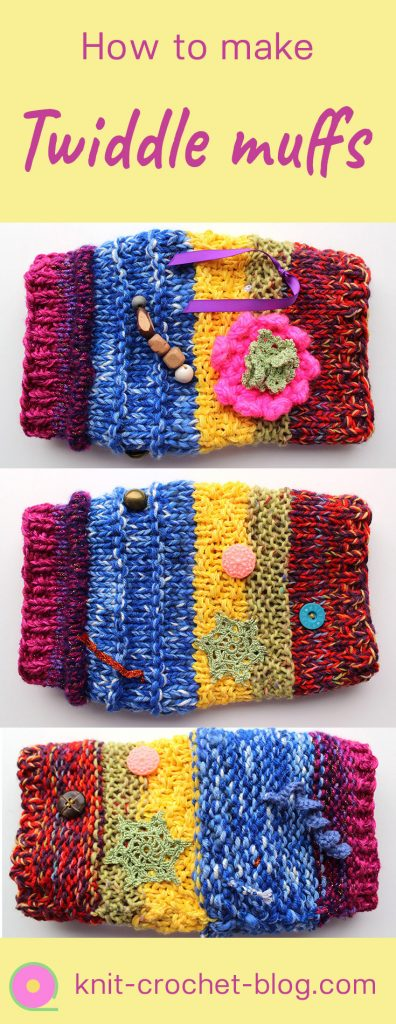 Twiddle muffs for the elderly - Knit & Crochet blog