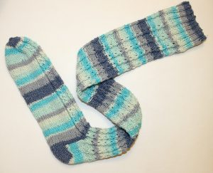 mock-cable-socks-cotton-stretch