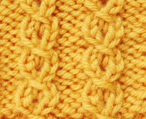 knitted-mock-cables-yellow