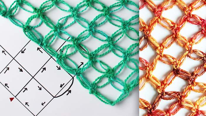 Solomon's knot crochet tutorial