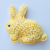 Crochet bunny rabbit pattern chart and video